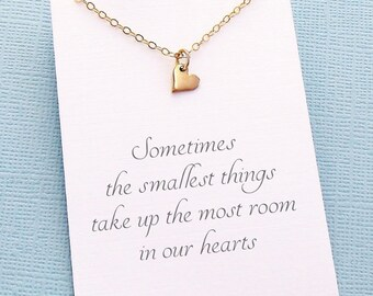 Adoption Gifts | Heart Necklace Gift for Daughter, Mother Daughter Necklace, Daughter Gift, Step Daughter Gift, Mom Gift, Family | C01