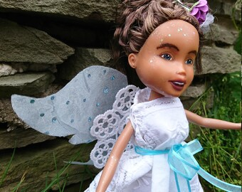 Silver Clouds Doll, by Mirthitude, repaint rescue + ooak