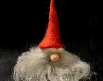 Needle felted Mysterious Dwarf