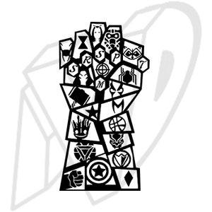 Avengers Decal Etsy