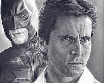 Christian Bale as Batman / Bruce Wayne