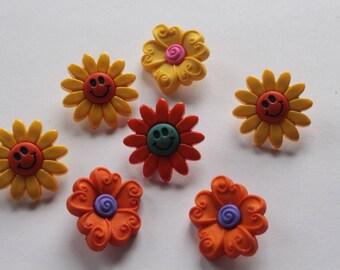 Boutons de Flower Power