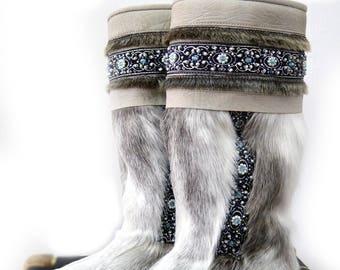 Reindeer Fur Boots