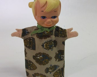 60s Vintage Beany of beany and Cecil Hand Puppet