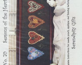 Seasons of the Heart by Kay Whitt for Serendipity Gifts - Needlepunch / Punchneedle Embroidery Pattern