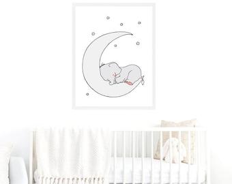 Elephant Scandinavian Printable Nursery,Baby Elephant Children,Baby Boy Girl Elephant,Elephant printable Art,Elephant Nursery Kids,Elephant