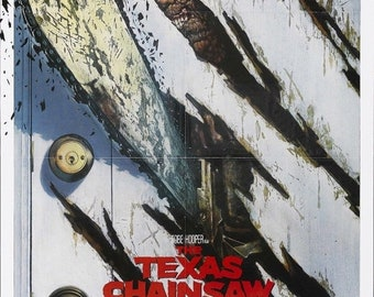 Spring Sales Event: The TEXAS CHAINSAW MASSACRE Part 2 Movie Poster Horror Leatherface