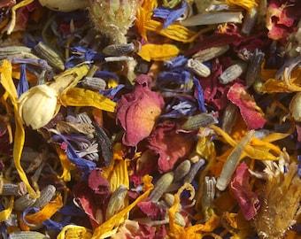 Herbal Teas, Loose Leaf Tea, 1/2 Pound Quantities - 40 Varieties/Flavors - Caffeine and Sugar Free, Tea, Tisane, Herbal Tea, Loose Leaf Tea