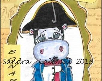 2097 Napoleon  Hippo Digi Stamp