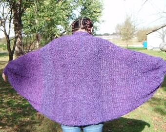Handmade Knitted Shrug