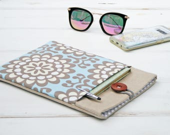 Ipad Sleeve, Tablet Accessories, Cases for ipad, Ipad mini sleeve in Cornflower