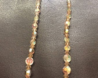 Vintage Austrian crystal necklace