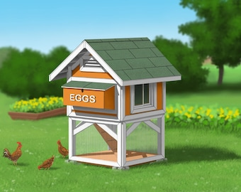 Chicken Coop Plans - Mini Coop