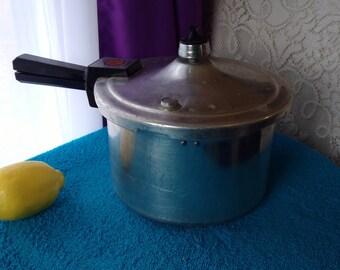 Presto 4 Qt Polished Aluminum Pressure Cooker Pat # 4182741