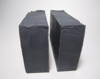 Activated Charcoal Olive Oil Soap Bar - All Natural Soap, Handmade Soap, Unscented Soap, Cold Process Soap, (Vegan)