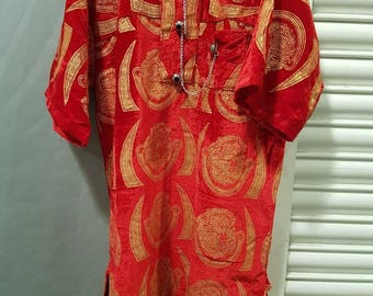 New Elegant Igbo Isiagu Traditional Wedding Groom Man Velvet