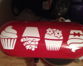 KITCHENAID STANd MIXER DECALS Vinyl Artisan Professional Cupcakes