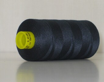 Thread, Gutermann Thread, Sewing Thread, Midnight Blue 339 Gutermann Superior Sewing Thread on 1094 Yard Spool