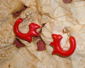 Zelda - Fireshield Earrings - Skyward Sword Link Cosplay Accessories