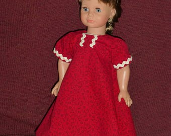 "18"" Doll Dresses: Red Dresses (3 Options)"