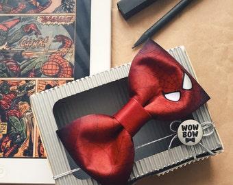 Spider man bow tie | spider-man bow ties, spiderman papillon, marvel