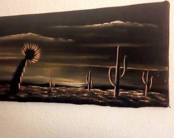 velvet desert painting