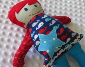 Rainier Small Handmade Baby Doll