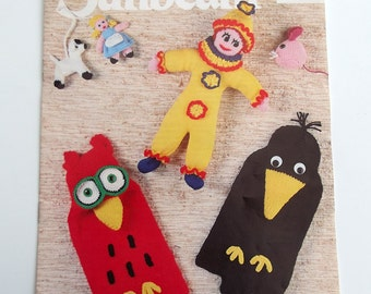 Sunbeam - a booklet containing patterns for knitted and crocheted toys
