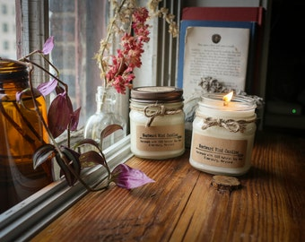 French Vanilla Natural Soy Wood Wick Candles