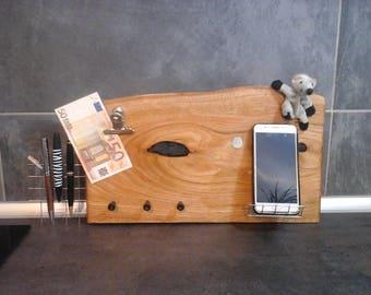 """Pinnboard organizer """"Chestnut"""" key board wall"""