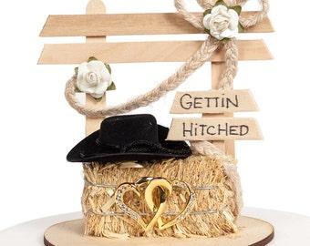Western Affection Wedding Cake Topper - 70412