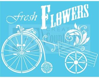 Stencil - Fresh Flowers - ST-869