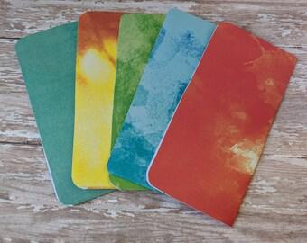 5 cardstock budget envelopes
