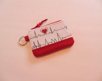 Change Purse, Credit Card Case, Key Case, Nurse, Doctors