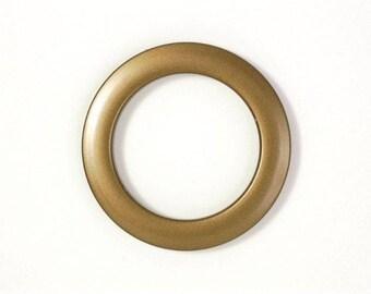EYELET, PVC Ø 50 MM clip, curtains, 58400 - gold, matte, swells