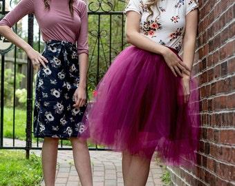 Classic Tulle Skirt / Custom size