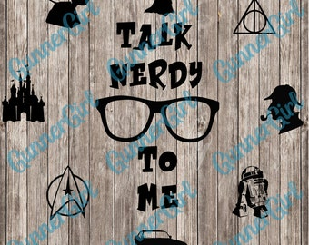 Talk Nerdy to Me SVG