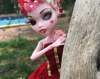Scarlet Buttons - OOAK Monster High