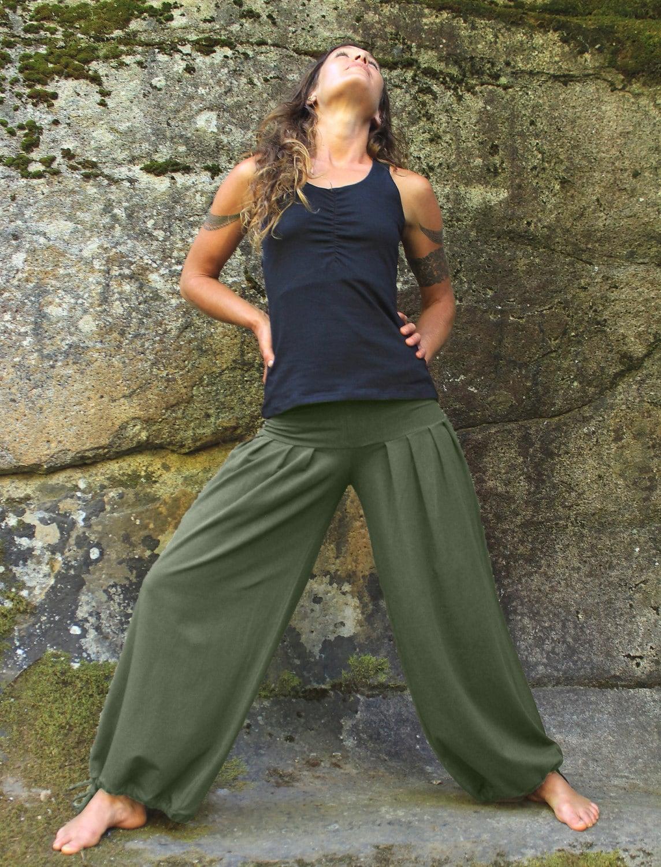 Fabulous Harem Pants-Baggy pants-loose fit pants-wide leg pants-belly EI66