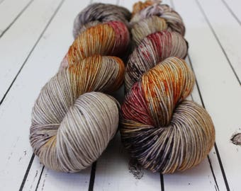 Fall Is In The Air - Hand Dyed Yarn