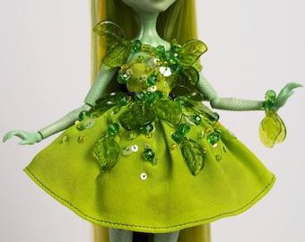 On Hold- Simone Serpentine ~ OOAK Custom Monster High CAM Gorgon Girl Doll