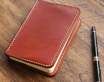 A6 Leather Journal Diary Notebook /loose-leaf notebook/ notepad