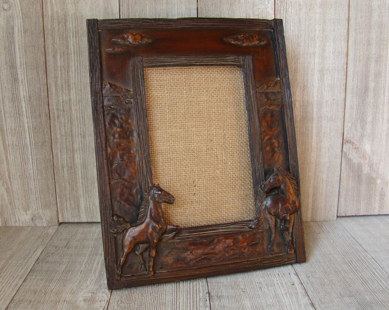 4X6 Rustic Horse Frame 4X6 Horse Frame Ornate Frame Western