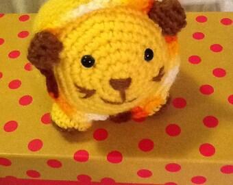 Little Amigurumi Lion : Amigurumi lion doll ready to ship