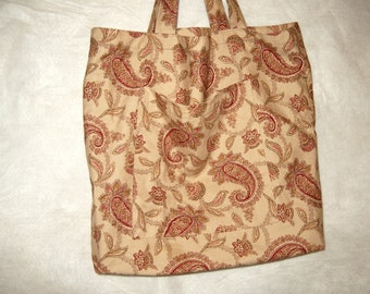 TOTE BAGS:  Paisely