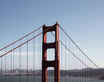 San Francisco Print, Golden Gate Bridge, San Francisco Photo, Golden Gate Print, City Art, Bridge Poster, Home Decor, Fine Art Photography