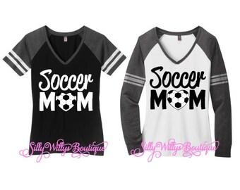 Soccer mom shirt, Soccer mom top, Soccer Heart shirt, Soccer Heart, Soccer shirt, Soccer Mom, Soccer