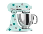 Polka dot Kitchen Aid Mixer Wrap