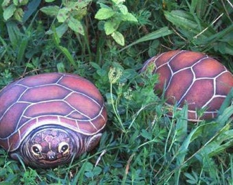 How to paint a tortoise on a rock - Rock painting pdf  tutorial in english