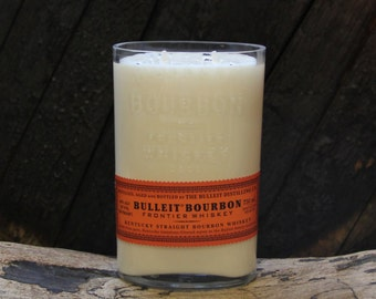 Bulleit Bourbon Candle / Whiskey Candle, Bourbon Gifts, Gift For Him, Gift For Dad, Gift For Brother, Father's Day Gift